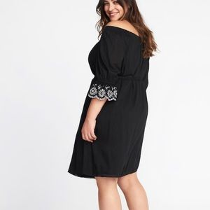 a4487d456952 Old Navy Dresses   Plus Size Off The Shoulder Shirt Dress   Poshmark